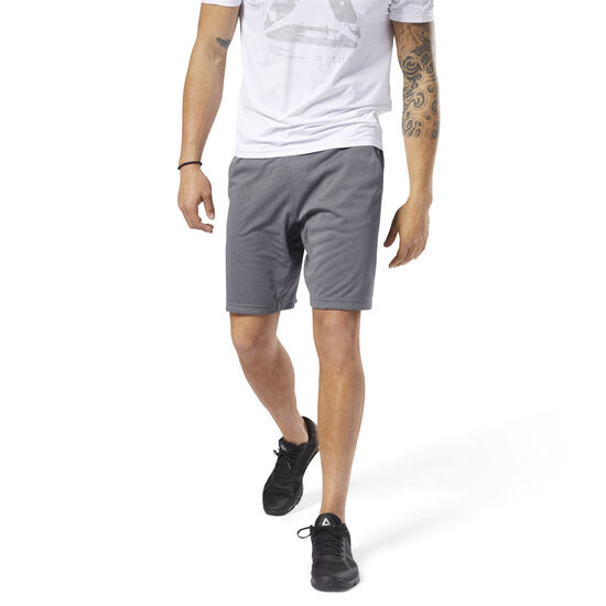 Reebok - SpeedWick Knitted Shorts Dark Grey Heather D93786