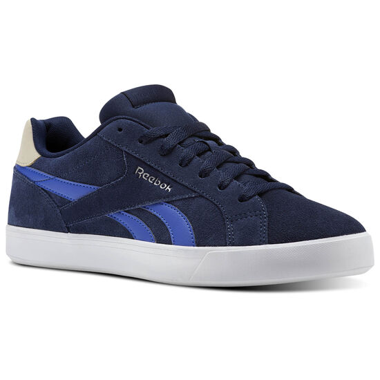 Reebok - Reebok Royal Complete 2LS Collegiate Navy/Acid Blue/Stucco/White CM9630