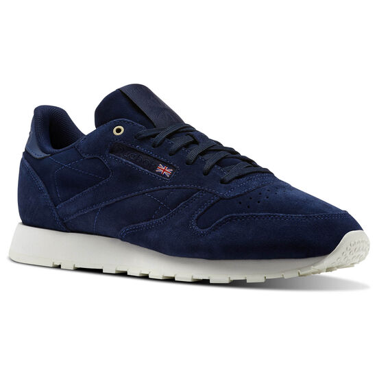Reebok - Classic Leather Montana Cans collaboration Blue Note/Chalk CM9609
