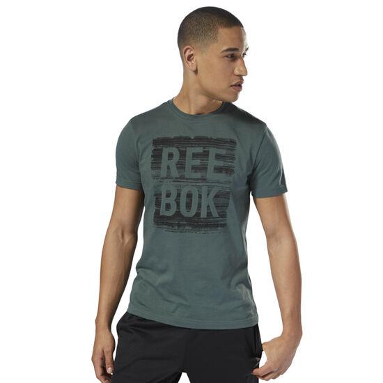 Reebok - Reebok Strata Tee Chalk Green DH3752