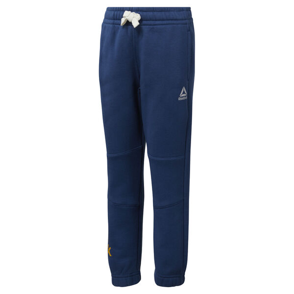 Boys Training Essentials Fleece Pant Blue DJ3077