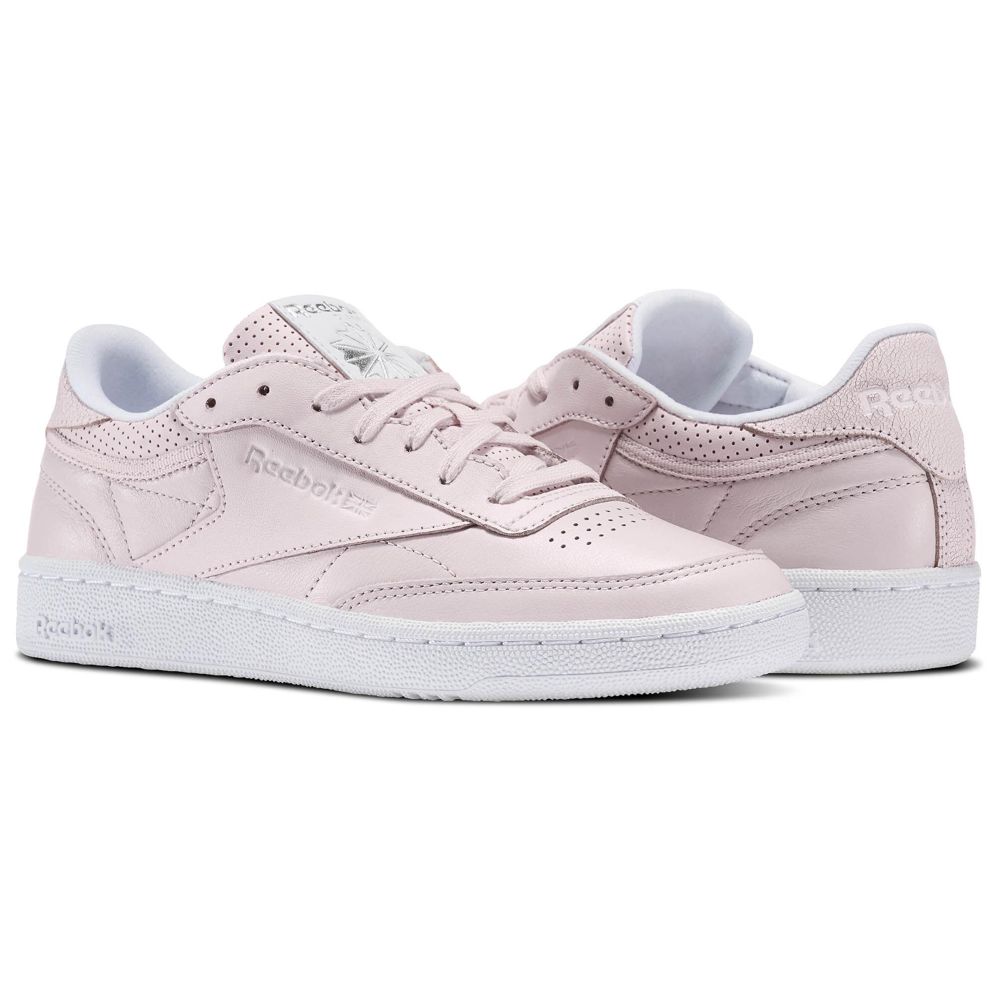 Womens Club C 85 Fbt Training Shoes, Pink Reebok