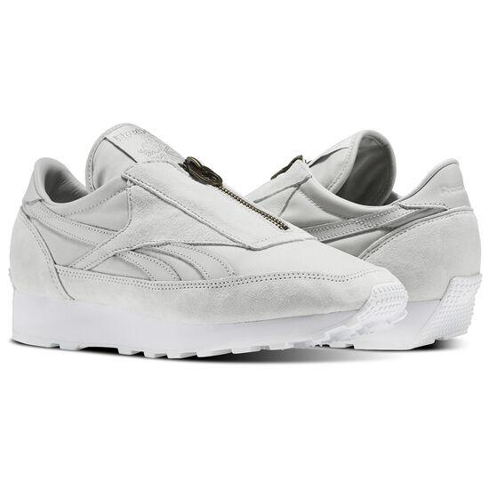 Reebok - Aztec Zip Skull Grey/Silver Metallic/White BS6641