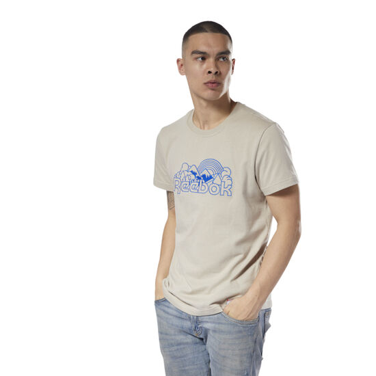 Reebok - Classics Graphic Tee Unisex Parchment DH1264