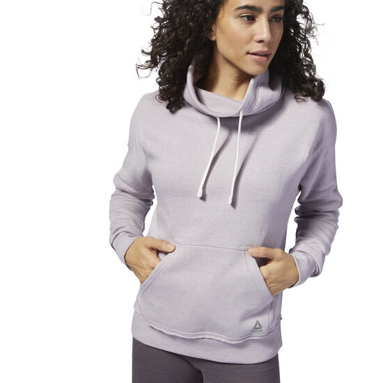 Reebok - TE Marble Funnel Neck Lavender Luck D95540