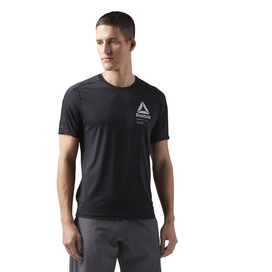 Reebok - ACTIVCHILL Graphic T-Shirt Black CF3753