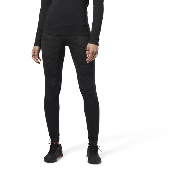 Thermowarm Seamless Tights Black CY3310