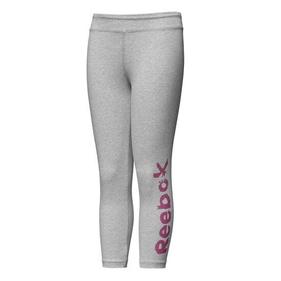 Reebok - Girls Training Essentials 7/8 Legging Medium Grey Heather DH4371