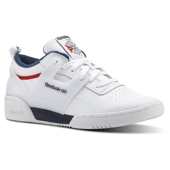 Reebok - Workout ADV L White/Collegiate Navy/Primal Red CN4309