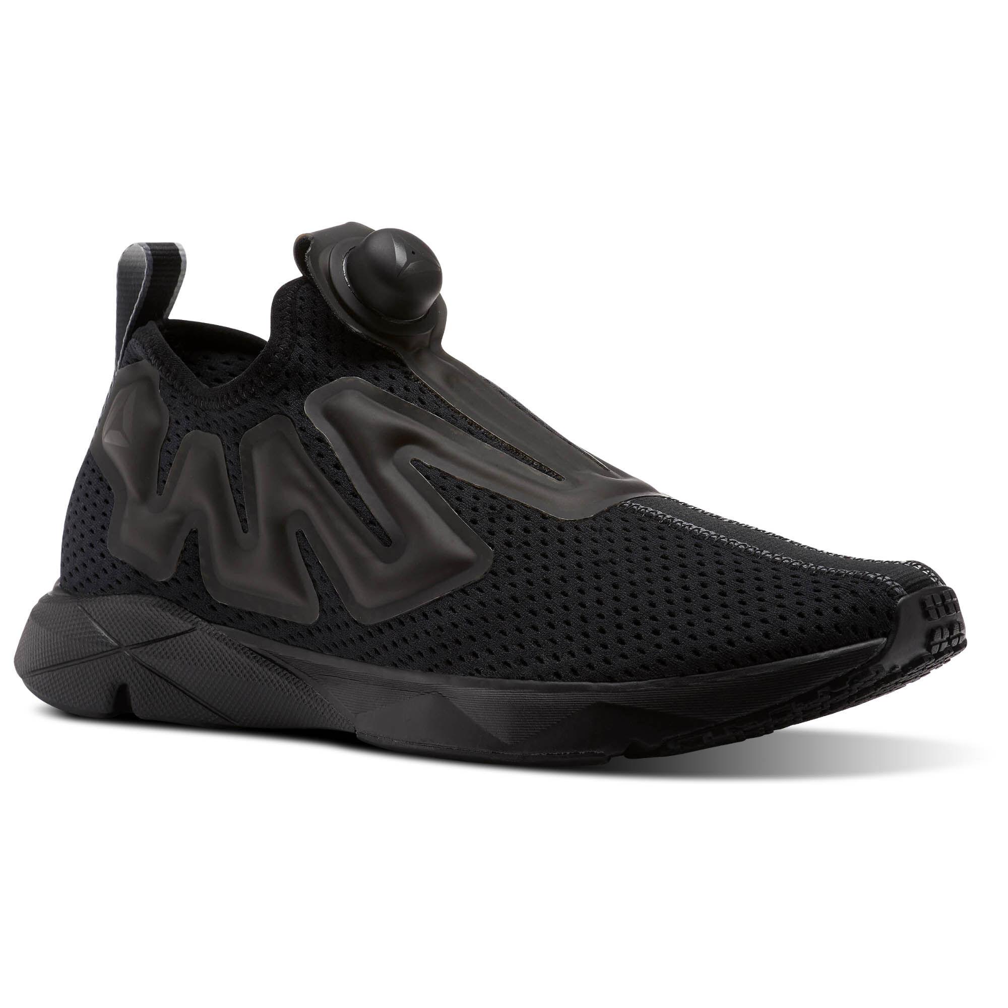 Reebok Classics Black Pump 2B4nZ3LnZe Tape Sneakers