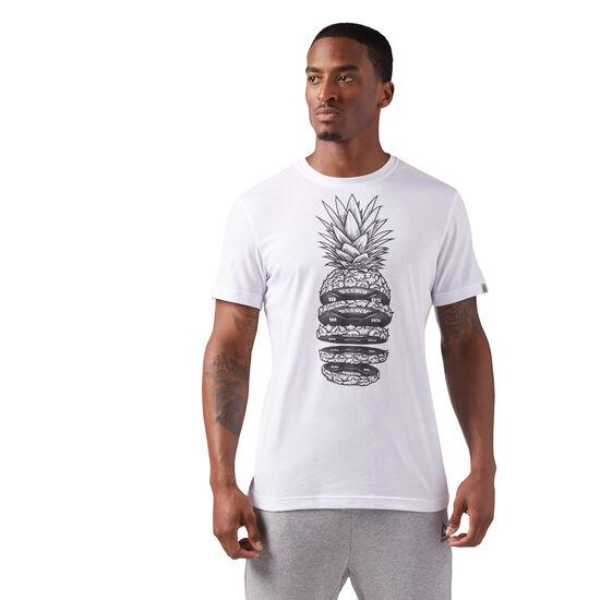 Reebok - Pineapple Weights T-Shirt White CF3858