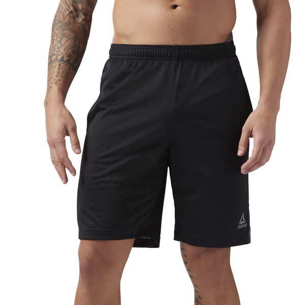 Mesh Workout Shorts Black CE3908