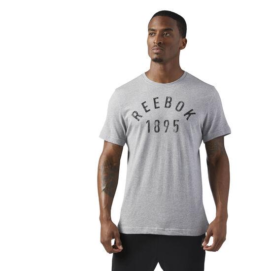 Reebok - 1895 Workout T-Shirt Medium Grey Heather CF3882