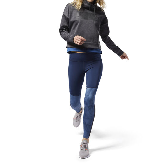Reebok - Colour blocked Leggings Bunker Blue D95072