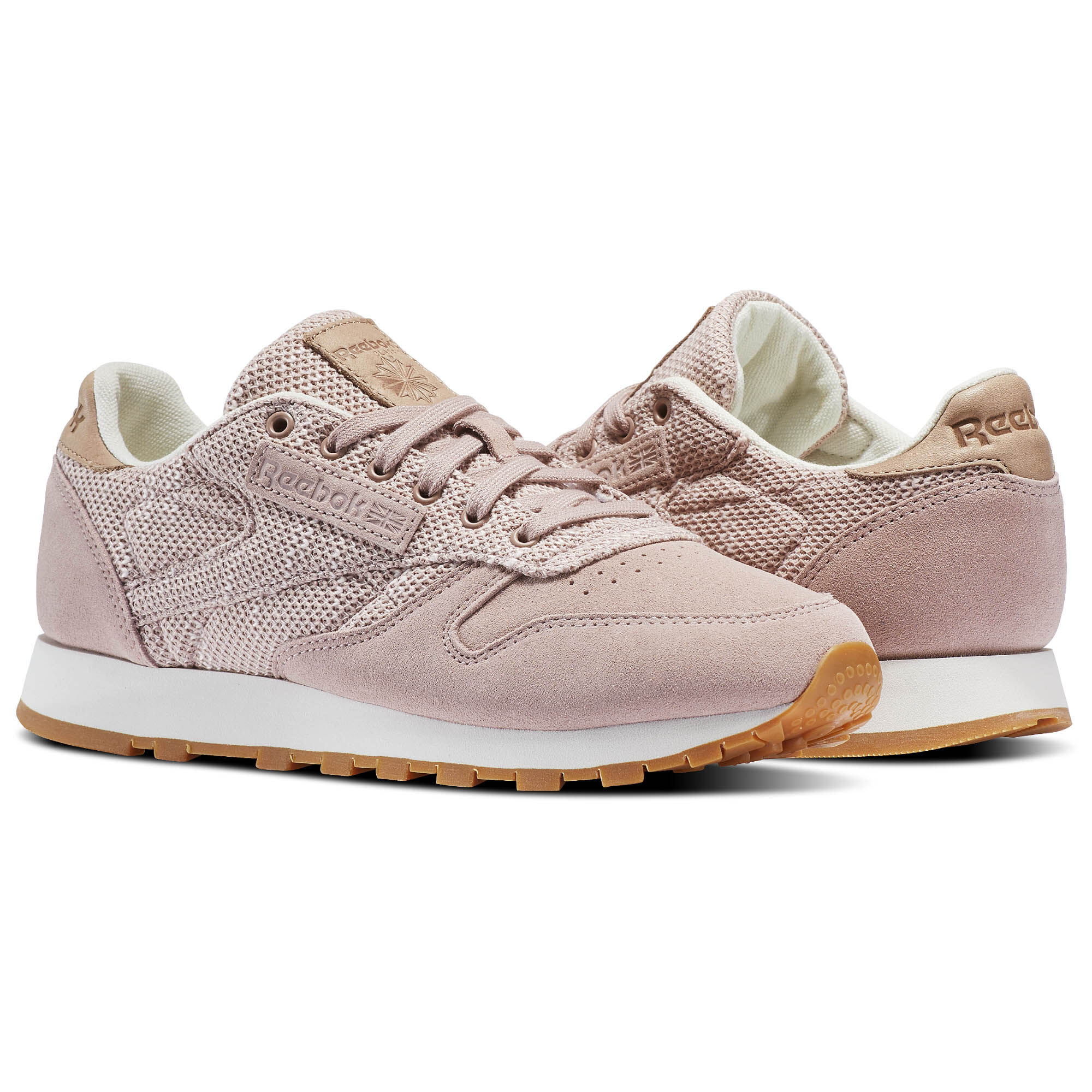 Classic Nubuck Leather Trainers In Pink - Pink Reebok Cheap Price Wholesale Free Shipping 2018 Outlet Store Locations Free Shipping Many Kinds Of Low Shipping Fee Sale Online w0NQEMm