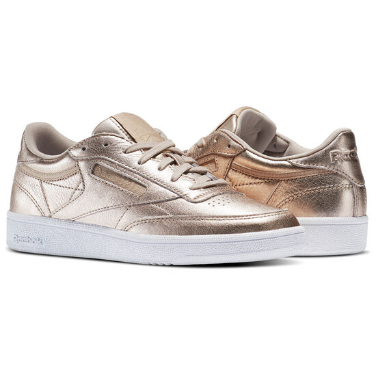 Reebok - Club C 85 Melted Metals Gold/Pearl Met-Peach/White BS7899