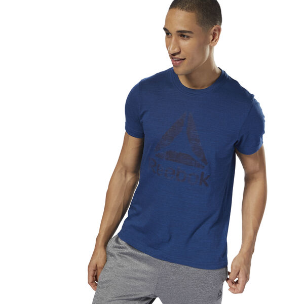 Elements Marble Mélange Tee Blue D94173