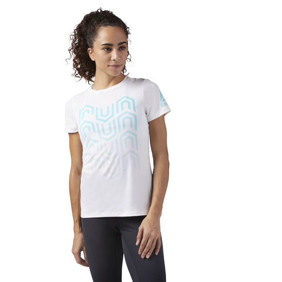 Reebok - ACTIVCHILL Running T-Shirt White CW0471