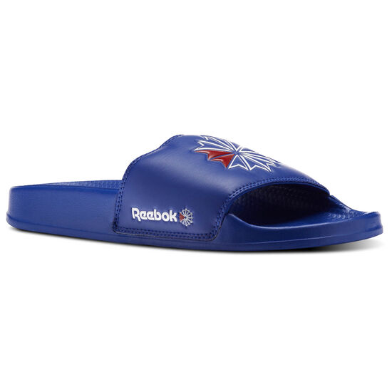 Reebok - Reebok Classic Slide Collegiate Royal/White/Excellent Red CN0740