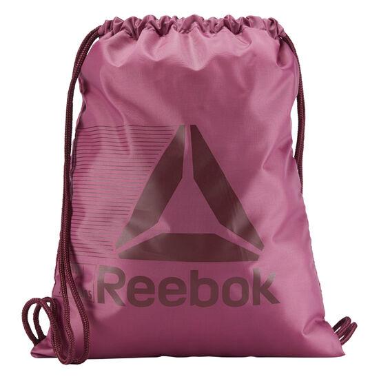 Reebok - Reebok Drawstring Bag Twisted Berry CZ9882