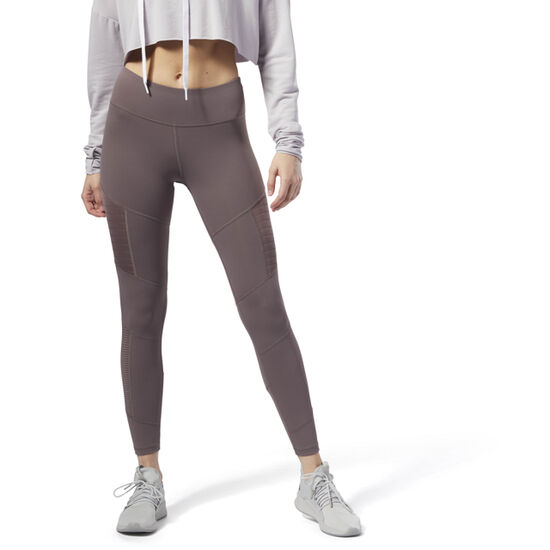 Reebok - Dance Mesh Tights Almost Grey CZ9486