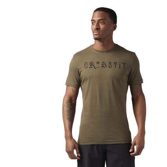 Reebok - Reebok CrossFit Pokras Lampas Tee Army Green CF4573
