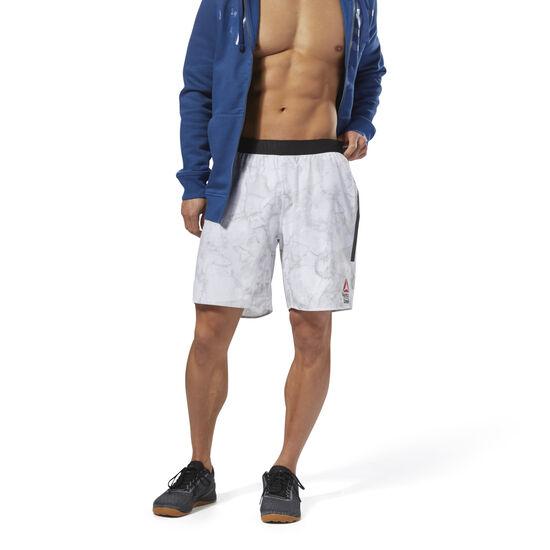 Reebok - Reebok CrossFit Speed Shorts - Games White DN6177