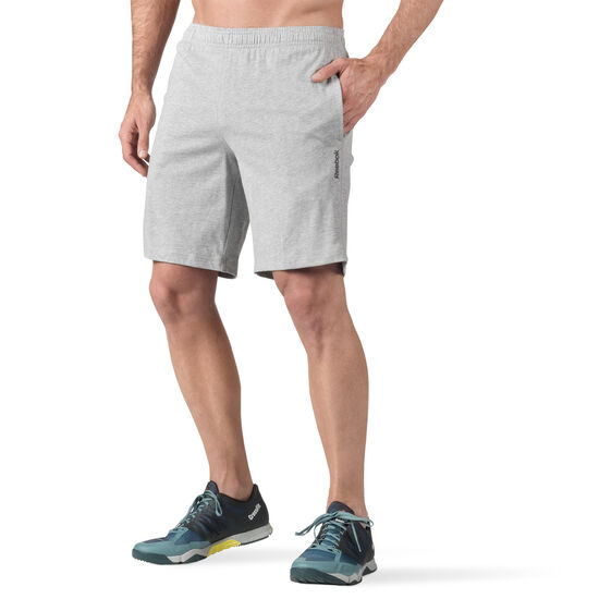 Reebok - Workout Ready Mesh Shorts Grey/Black BK2975