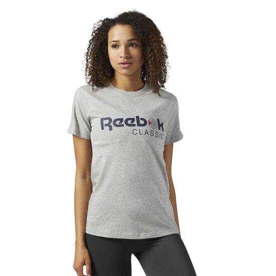 Reebok - Reebok Classics Graphic Tee Medium Grey Heather BS3728