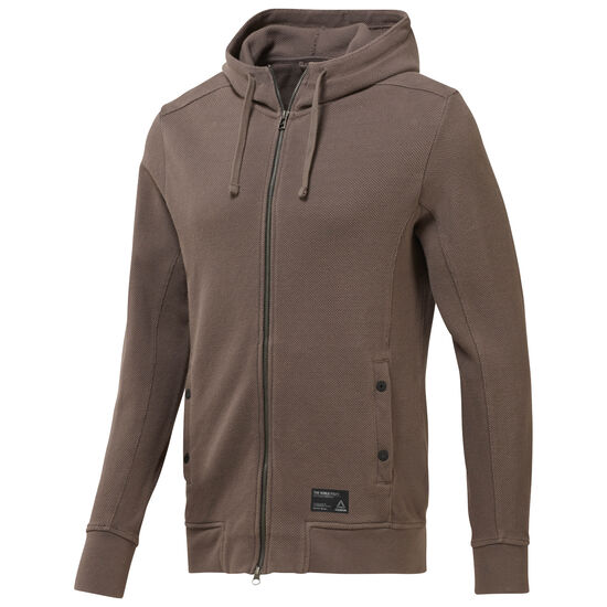 Reebok - Noble Fight Hoodie Brown/Smoky Taupe CE0721