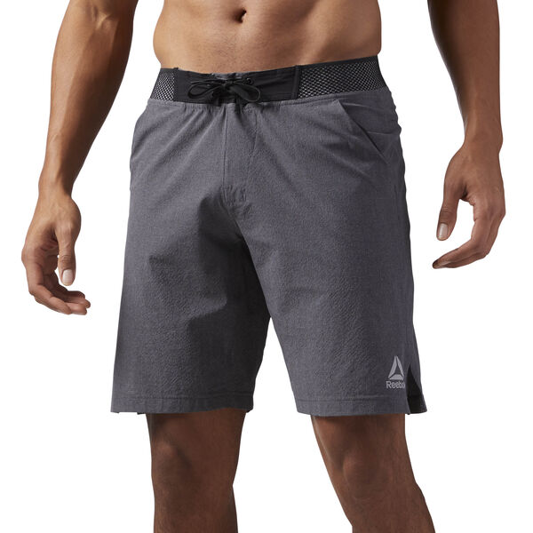 Reebok Epic Knitted Waistband Shorts Grey CD5193