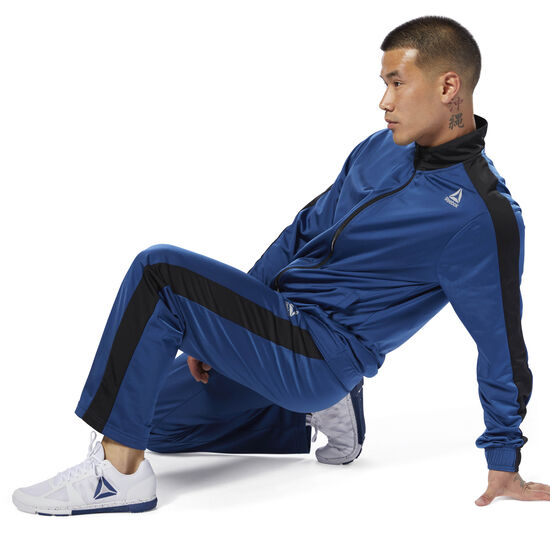 Reebok - Tricot Tracksuit Bunker Blue CY4864