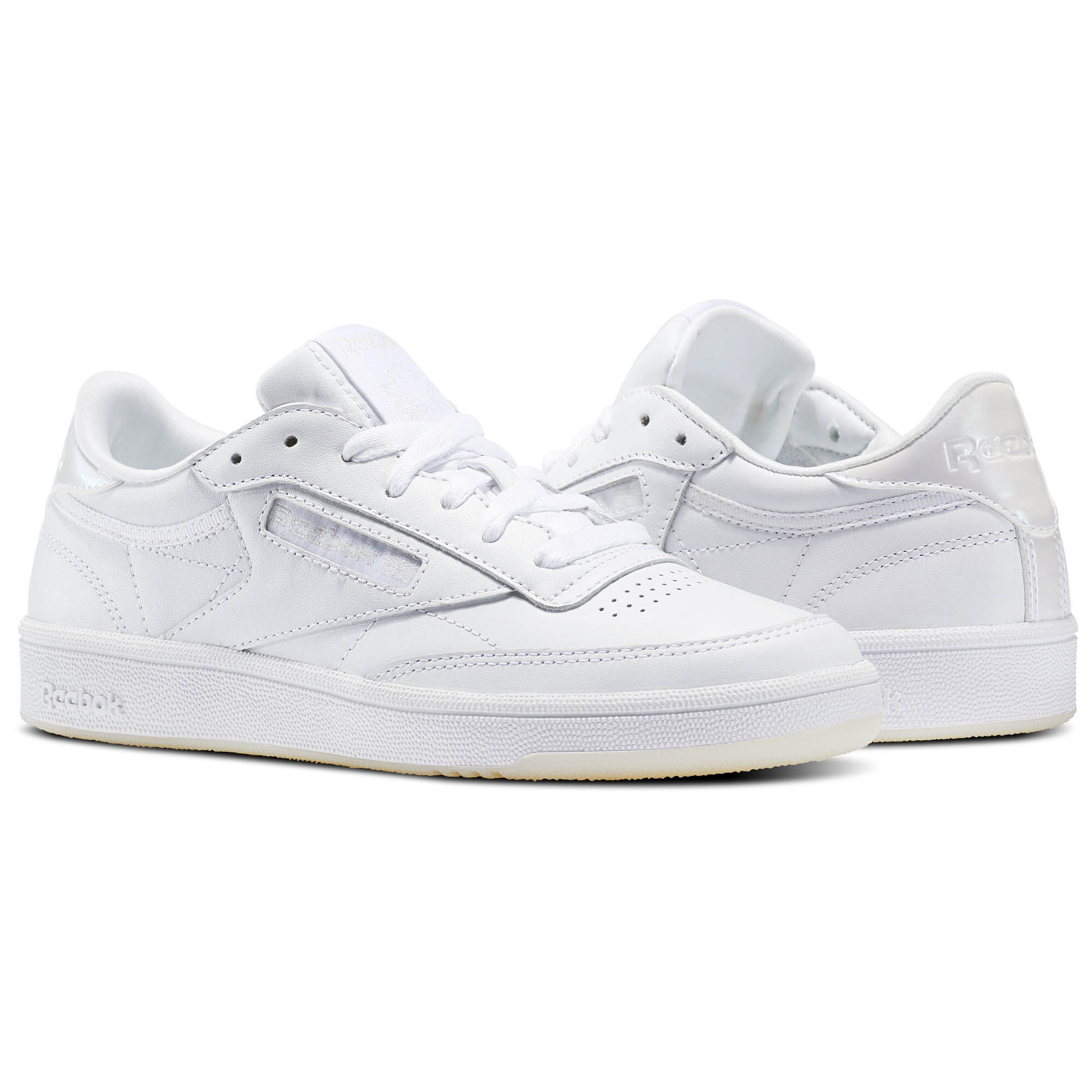 Reebok - Club C 85 Melted Metals Pearl-White/White/Ice BS5163