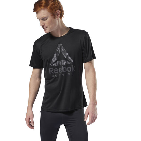 Reebok - Running Graphic Tee Black D92935