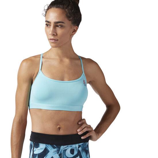 Reebok - Reebok CrossFit Front Rack Sports Bra Turquoise CE1877