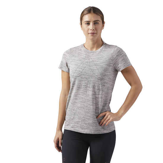 Reebok - Short Sleeve Tee Medium Grey Heather CF8640