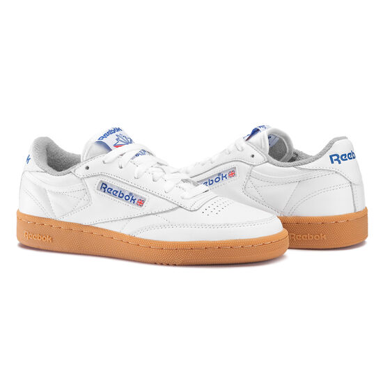 Reebok - Club C 85 Gum White/Reebok Royal/Flat Grey-Gum BS7635