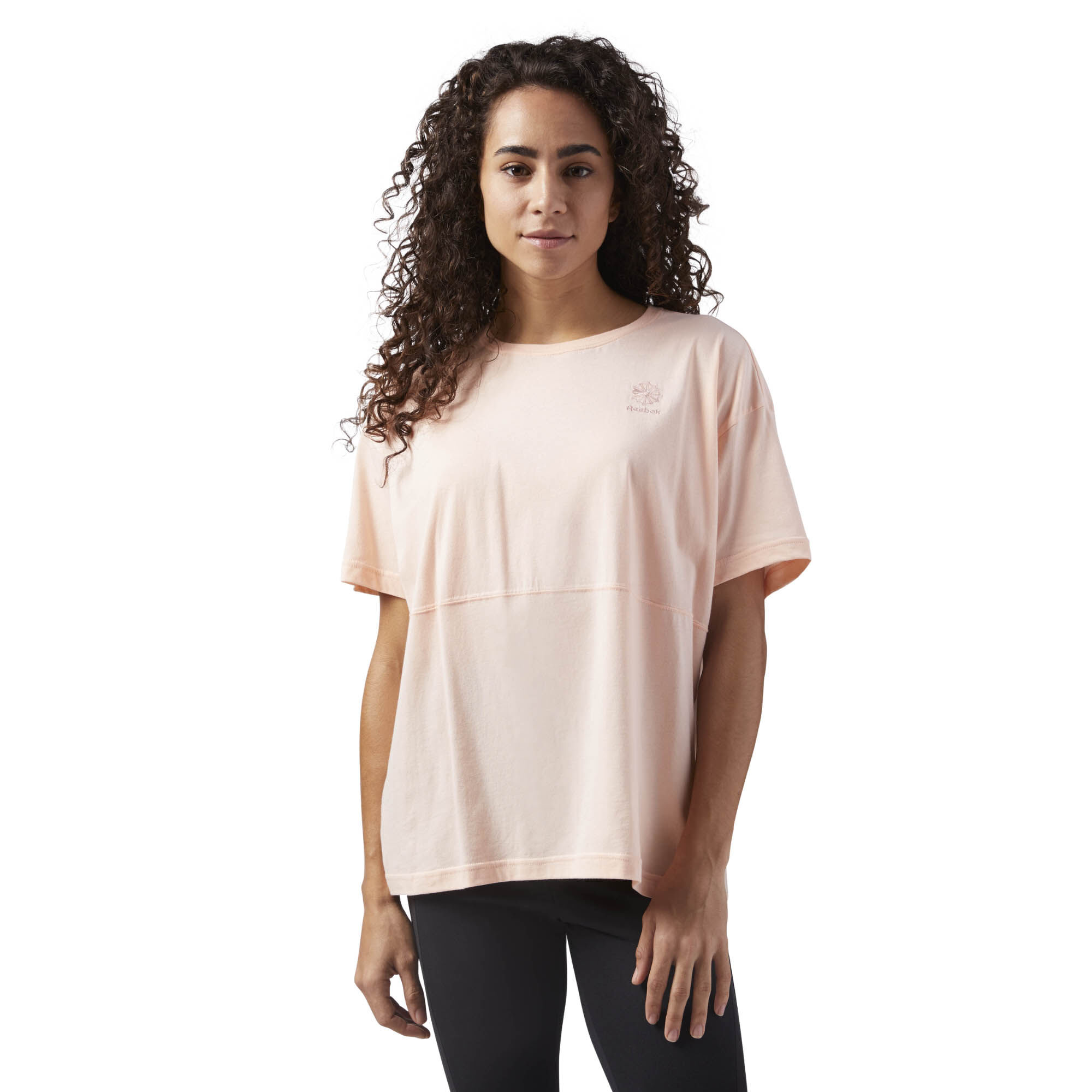 Reebok Layering T-Shirt Quality Free Shipping Comfortable Cheap Online Cheap Sale Low Cost Latest Collections Latest Collections Cheap Online gIvCie