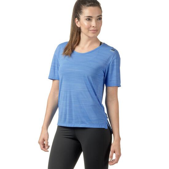 Reebok - Workout Ready ACTIVCHILL Slub Tee Turquoise/Black/Echo Blue BK4882