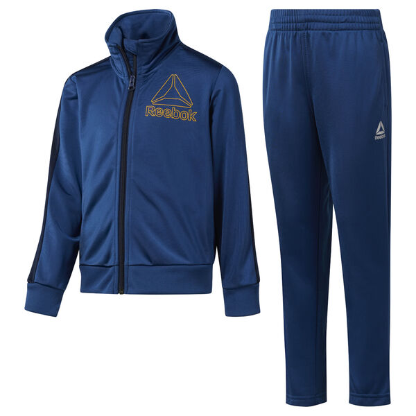 Boys' Workout Ready Tricot Tracksuit Blue DH4326