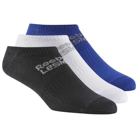 Reebok - LES MILLS™ Unisex Sock - 3pack Deep Cobalt/Black/White CW0144