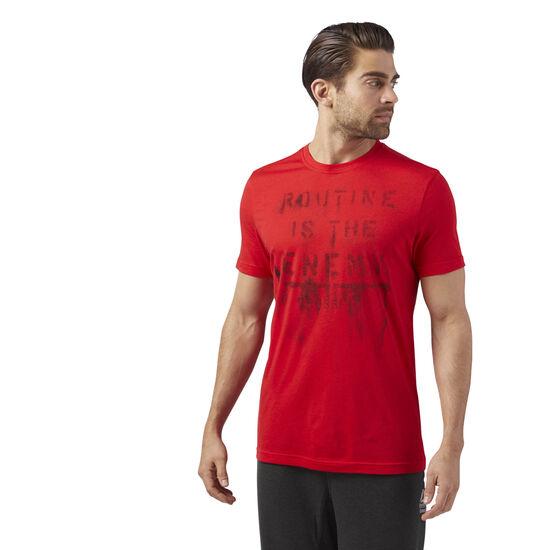 Reebok - Reebok CrossFit Routine T-Shirt Primal Red CF4572
