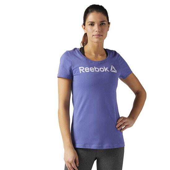 Reebok - Reebok Scoop Neck Tee Lilac Shadow BR2891