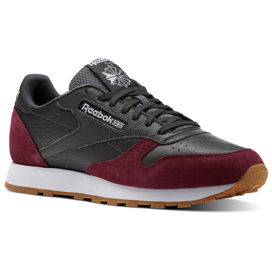 Reebok - Classic Leather GI Coal/Urban Maroon/White-Gum BS9744