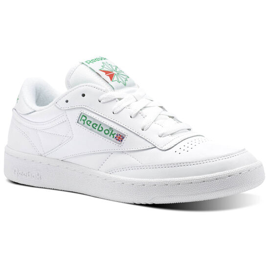 Reebok - Club C 85 Archive White/Glen Green/Excellent Red CN0645