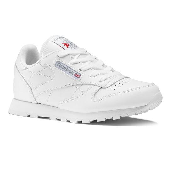 Reebok - Classic Leather - Pre-School White 50172
