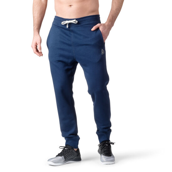 Reebok - French Terry Cuffed Pant Collegiate Navy BK5053