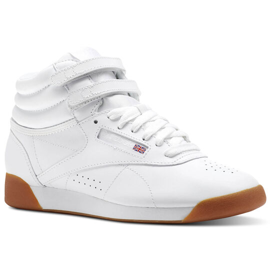 Reebok - Freestyle Hi White/Gum CN2392