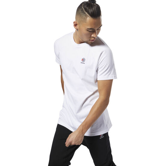 Reebok - Classics Short Sleeve Longer Tee White DH2075