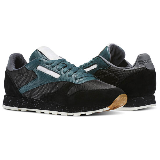 Reebok - Classic Leather Urban Descent Black/Washed Jade/Alloy/Chalk BS5229